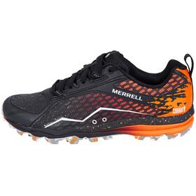 Merrell All Out Crush Tough Mudder - Chaussures running Femme - orange/noir